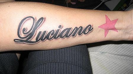 Tatuajes De Nombres En El Brazo Ideas Y Fotografías