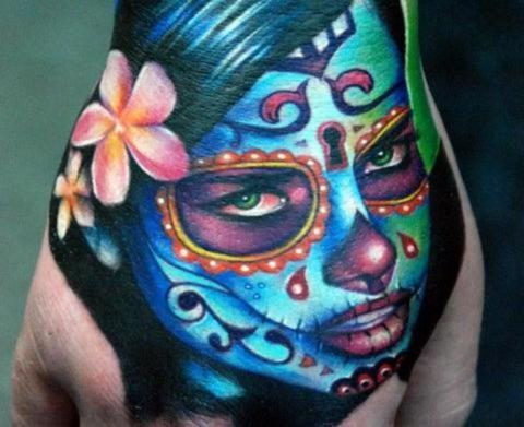Tatuajes De Calaveras Mexicanas Ideas Y Fotografías
