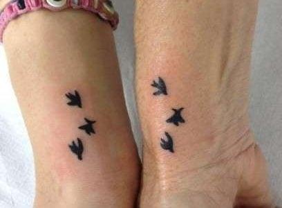 Tatuajes De Hermanas Ideas Y Fotografías