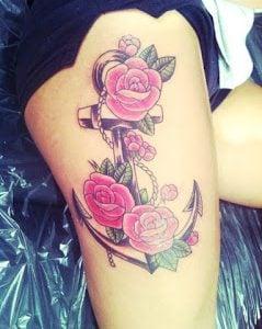 Tatuajes Para Mujeres En La Pierna Ideas Y Fotografías