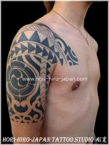 Tatuaje Tribal Maya En El Brazo