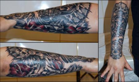 Tatuajes De Calaveras En El Antebrazo