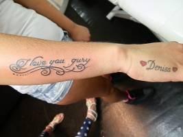 Tatuaje Del Nombre Moisés