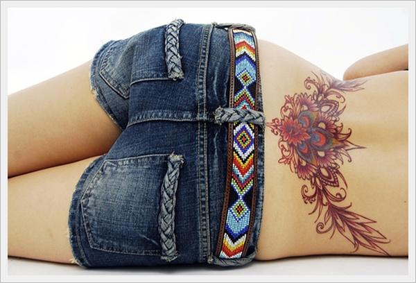30 Tatuajes Para Mujeres Sexys En La Espalda Zona Baja