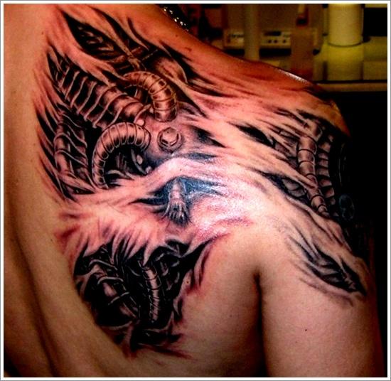33 Tatuajes Biomecánicos Cuando Las Maquinas Cobran Vida