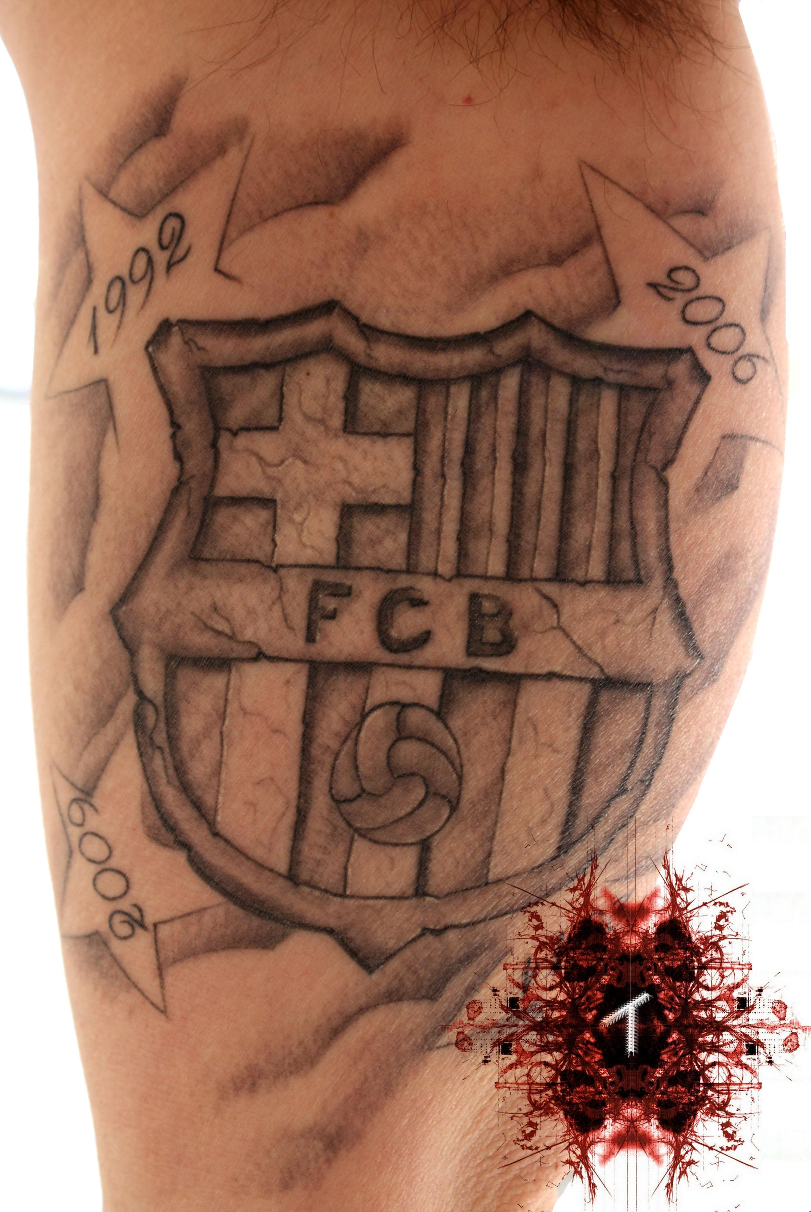 31 tatuajes del Ftbol Club Barcelona para hinchas culs