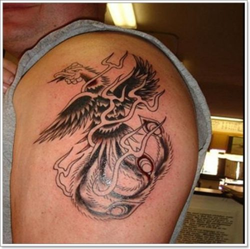 43 Diseños De Tatuajes De Fénix Para Hombres