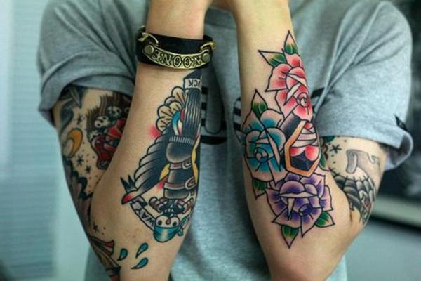 Coloridos Diseños De Tatuajes Para Alegrar Su Día Ideas Y Diseños
