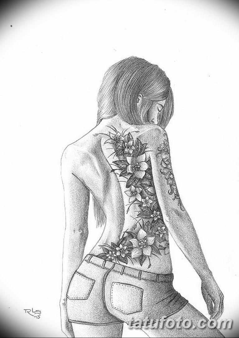 эскиз тату для девушки 08032019 030 Tattoo Sketches For Girls