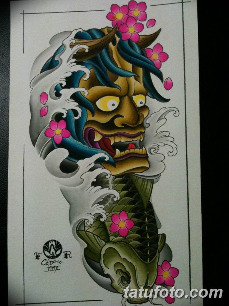 японские тату эскизы на руку 08032019 007 Tattoo On Hand
