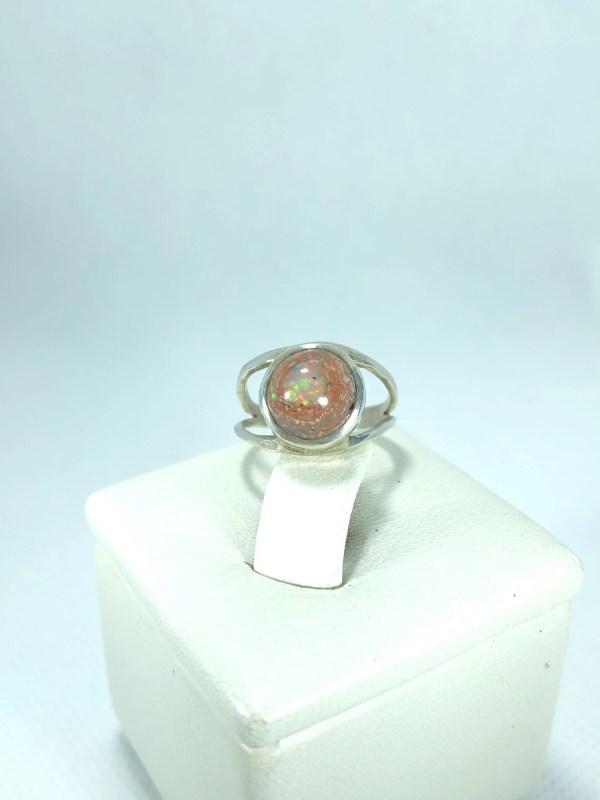 Bague Opale de feu