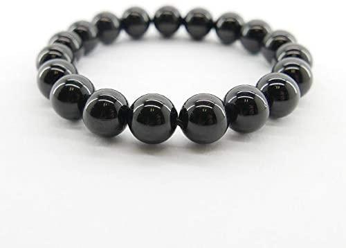 Bracelet Tourmaline noir 8mm