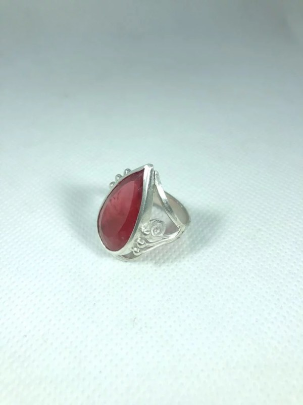 Bague rhodonite