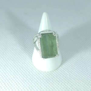 Bague Cyanite verte
