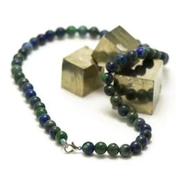 Collier Azurite-Malachite