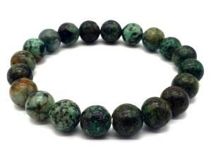 Bracelet Turquoise Africaine 10mm