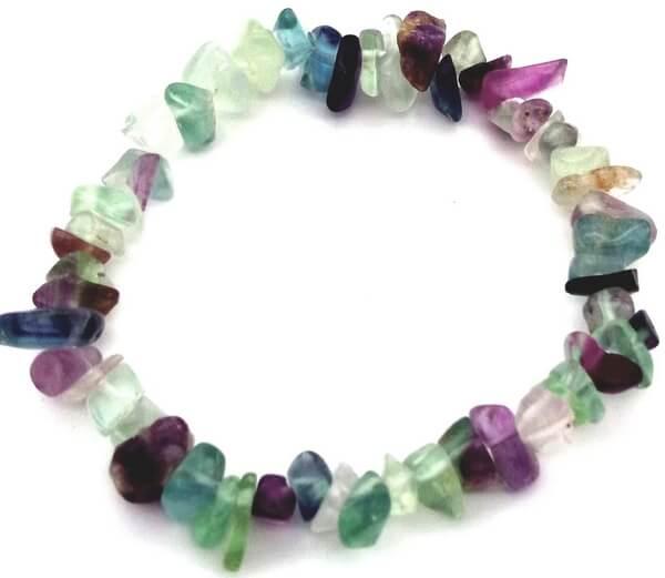 Bracelet Baroque Fluorite Multi