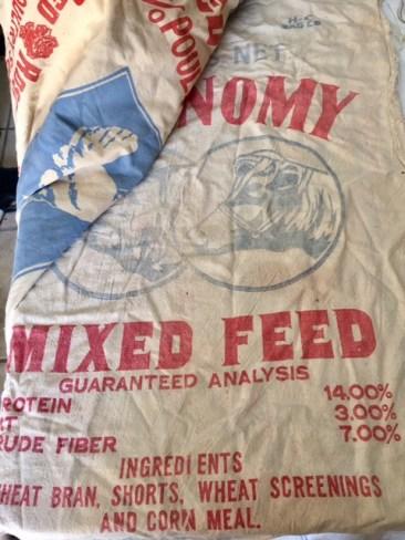 Feed bags