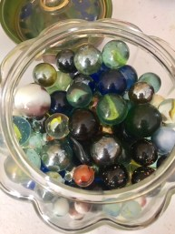 These marbles...some of prettiest I've seen.