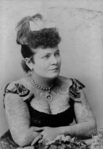 Porträtt av Nora Hildebrandt, 1880-tal.