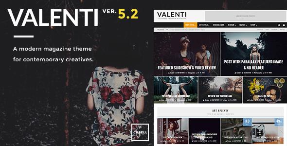 قالب Valenti