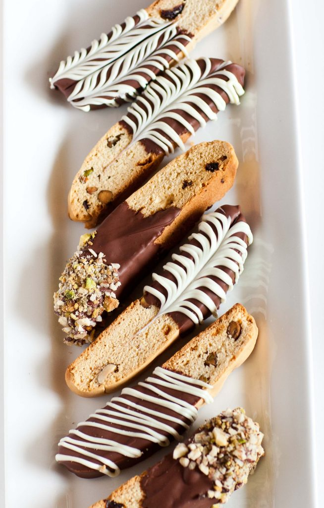 Italian Biscotti with Pistachios and Cranberry  Tatyanas Everyday Food