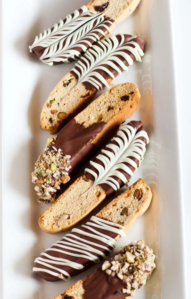 Italian Biscotti With Pistachios And Cranberry Tatyanas
