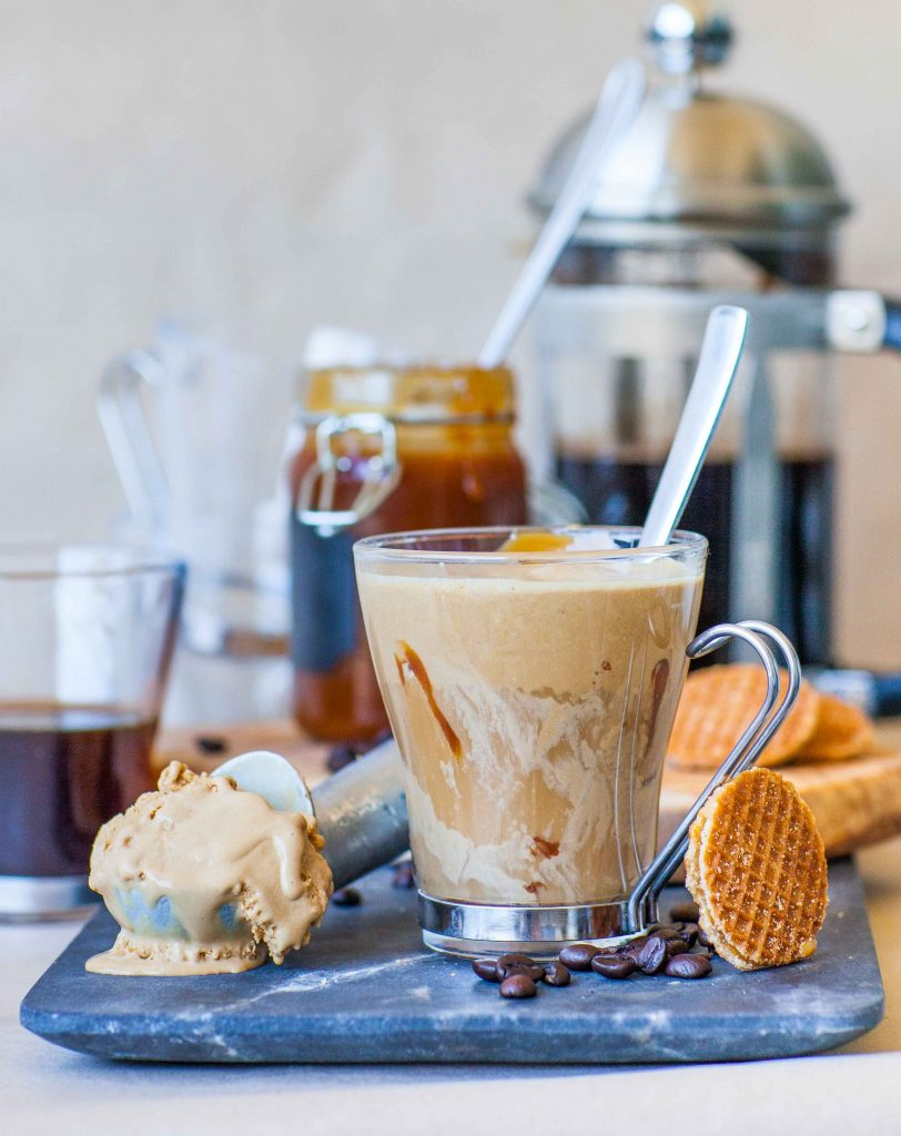Affogato Coffee Ice Cream Dessert Tatyanas Everyday Food