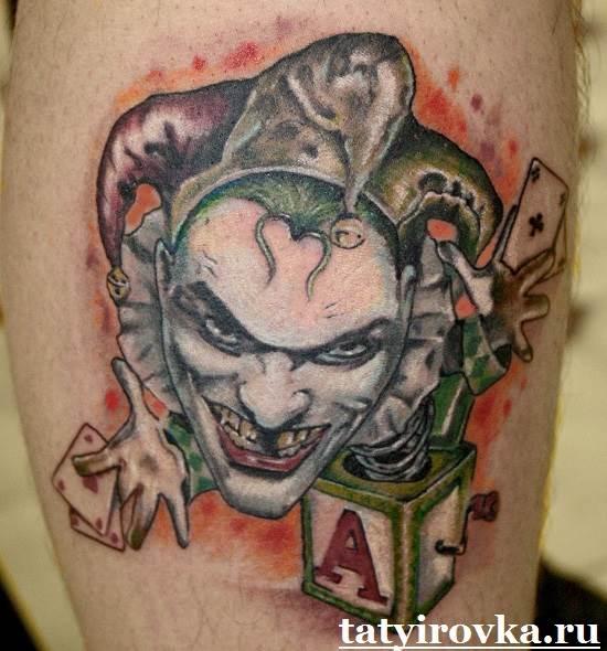 Тату-Джокер-и-их-значение-2