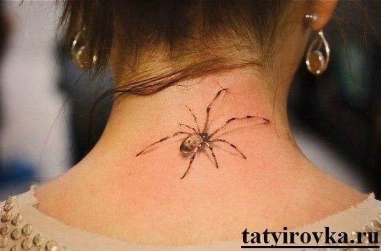 Тату-паук-и-их-значение-5