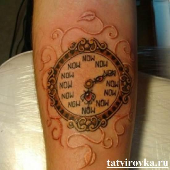 Тату-часы-и-их-значение-12