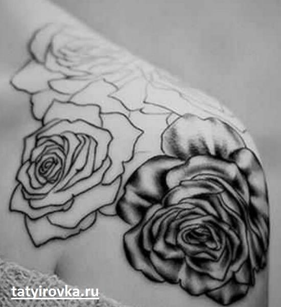 Черно-белые-татуировки-и-их-значение-10