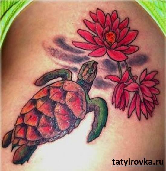 Тату-черепаха-и-их-значение-16