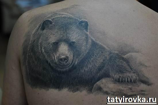 Тату-медведь-и-их-значение-5