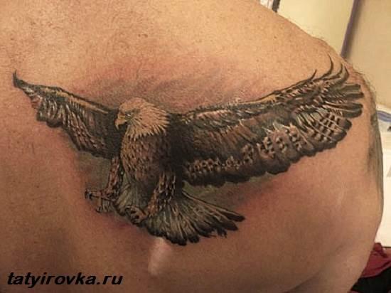 Тату-орел-и-их-значение-9