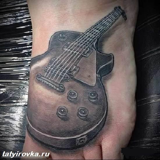 Тату-гитара-Значение-тату-гитара-Фото-и-эскизы-тату-гитара-7
