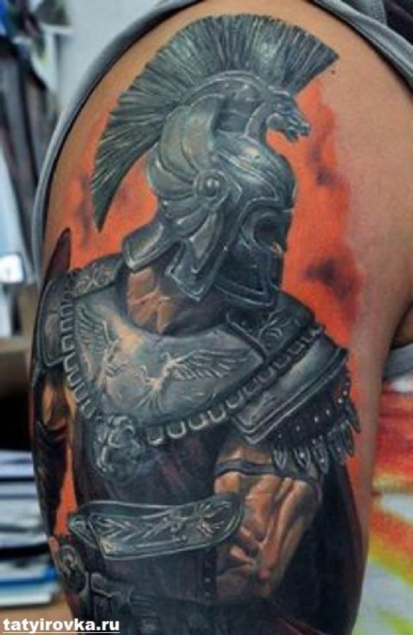 Тату-спартанец-Значение-тату-спартанец-Эскизы-и-фото-тату-спартанец-4