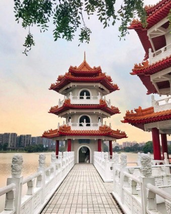 Chinese Garden, Singapore West Singapore - Building, Temple