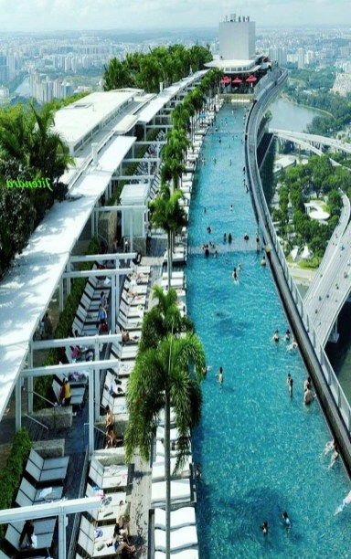 Marina Bay Sands, Gardens by the Bay Central Singapore - Swimming pool, Water