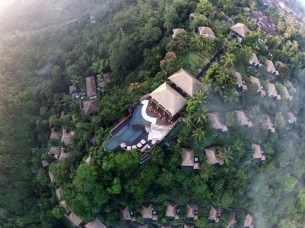 Gianyar, Bali Indonesia - Aerial photography, Bird's-eye view, House, Landscape, Outdoor structure, Photograph, Residential area, Roof, Suburb, Urban design, Village