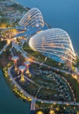 Gardens by the Bay, Singapore Central Singapore - Aerial photography, Cityscape, Landmark, Landscape