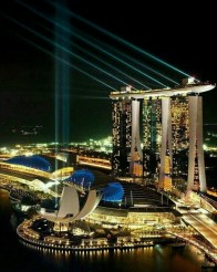 Gardens by the Bay, Singapore Central Singapore - Architecture, Night