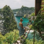 Thousand Islands Viewpoint, Klungkung Bali Indonesia - Coastal and oceanic landforms, Headland, Klippe, Nature, Outdoor structure, Promontory, River, Terrain, Tourism, Vegetation