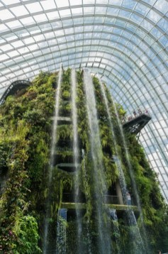 Gardens by the Bay, Singapore Central Singapore - Botanical garden, Fountain, Waterfall