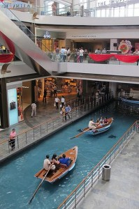 The Shoppes at Marina Bay Sands, Singapore Central Singapore - Boat, Leisure, Recreation, River