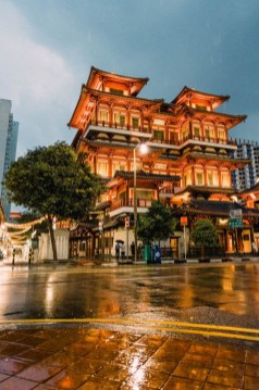 Buddha Tooth Relic Temple, Singapore Central Singapore - Lighting, Temple