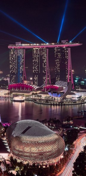 Gardens by the Bay, Singapore Central Singapore - Lighting, Night