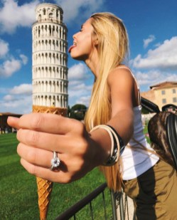 Piazza dei Miracoli, Pisa Tuscany Italy - Cloud, Finger, Gesture, Hand, People in nature, Person, Sky