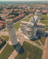 Pisa, Tuscany Italy - Aerial photography, Architecture, Building, House, Infrastructure, Landmark, Landscape, Neighbourhood, Property, Public space, Residential area, Thoroughfare, Urban design