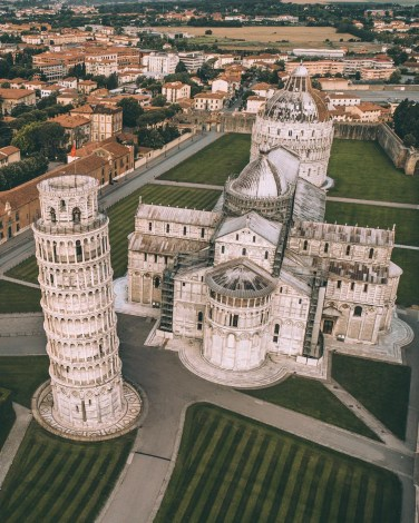 Pisa, Tuscany Italy - Building, House, Property, Public space, Residential area, Tower, Urban design, Window